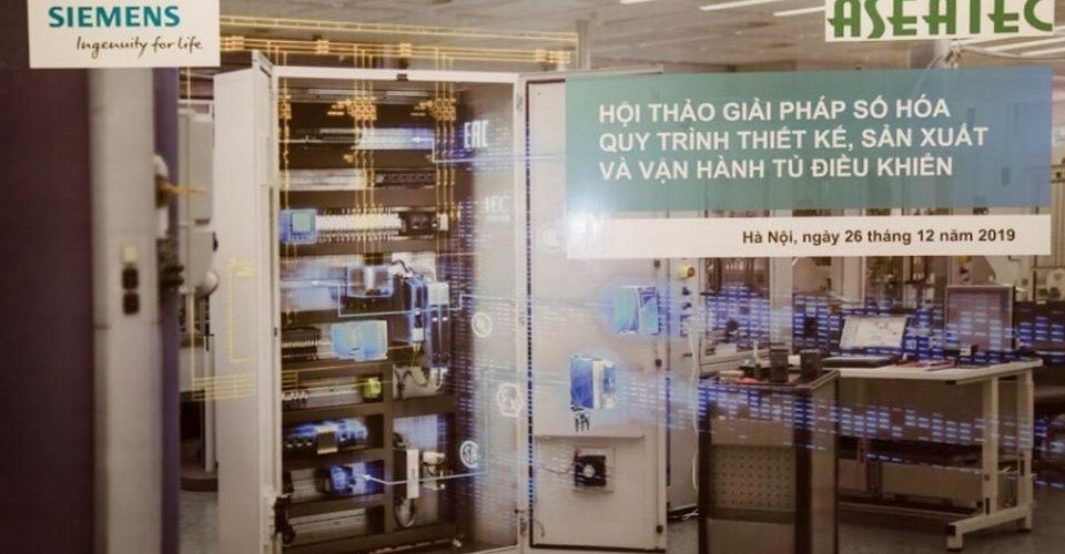 Hội thảo: Giới thiệu giải pháp số hóa quy trình thiết kế, sản xuất và vận hành tủ điện điều khiển