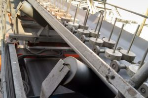 Sửa chữa căn chỉnh cơ khí thay Loadcell cho cân băng tải nhà máy Nhiệt Điện Sơn Động -TKV