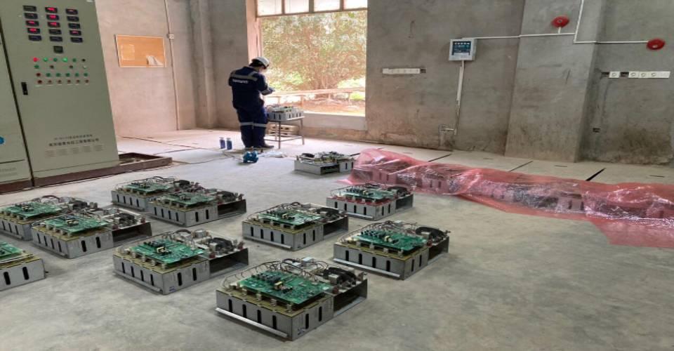 Bảo dưỡng biến tần trung thế Sinamics GH180 cho nhà máy Vicem Hải Vân Quảng Bình